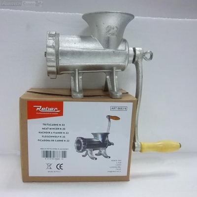 REBER TRITACARNE MANUALE meat mincer manuel de hachoir à viande N.5 MOD.8680N