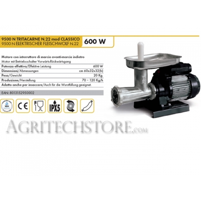 Classé n ° 22 Reber 9500 N HACHOIR mod CLASSIC