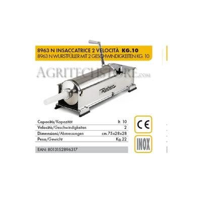 Ensachage Reber 8963 N * 10 kg.
