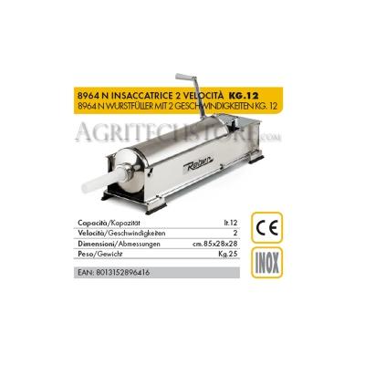 Ensachage Reber 8964 N * 12 kg.