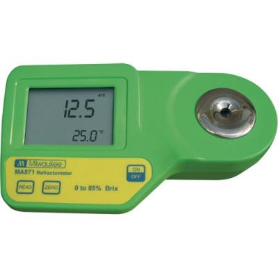 MMA 871 réfractomètre numérique de 0-85%