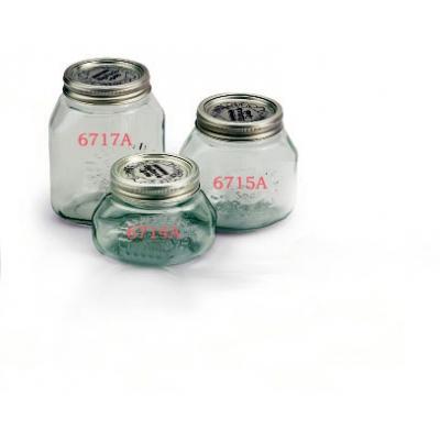 Les bocaux en verre pour le vide 2.1 Liter