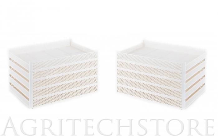 Kit 10 paniers en plastique CEB10