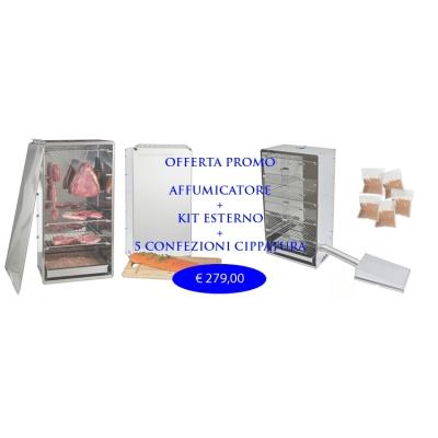 Fumeur offre de kits complets et externe 6 Kg.Cippato