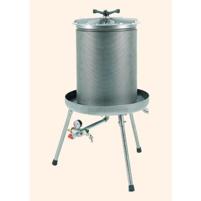 Idropressa 40 litres en acier inoxydable