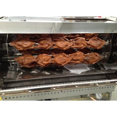 Poulets Rôtisserie pour professionnels en acier inoxydable 15-18 Poulets