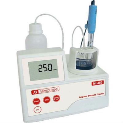 Mini titreur pour le dioxyde de soufre Mi455