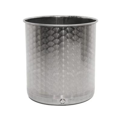 Conteneurs en acier inoxydable de 50 litres