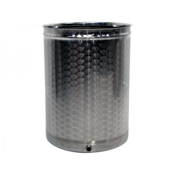 Conteneurs en acier inoxydable de 65 litres