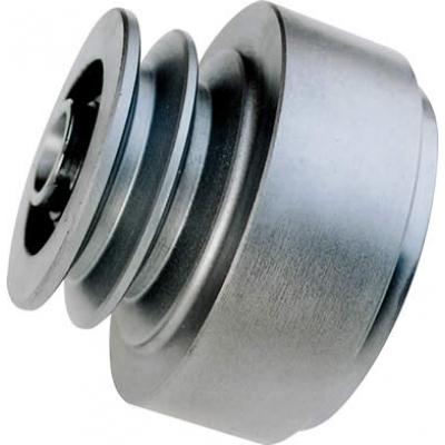 poulie à friction centrifuge diamètre 77mm à double gorge