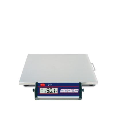. Balance VT1 60/150 kg INOX en acier inoxydable - Capacité 150 kg.