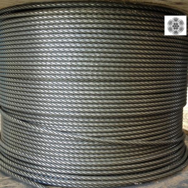 Martelé corde Ø 9 mm 156 fils
