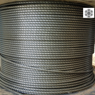 Martelé corde Ø 11 mm 156 fils