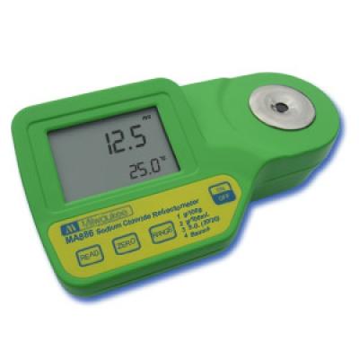 Réfractomètre numérique pour les mesures de chlorure de sodium MA886