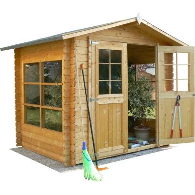 Maison en bois cm. 250x200 verrouillage Mod. Azur