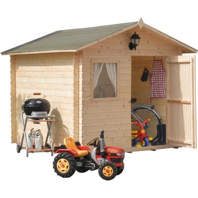 Maison en bois cm. 250x250 verrouillage Mod. Viola
