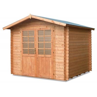Maison en bois cm. 250x250 verrouillage Mod. Neptune