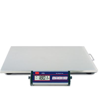 . Balance VT2 150/300 kg INOX en acier inoxydable - Capacité 300 kg.