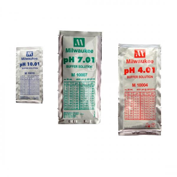 Solution d'étalonnage en sachets pour pH-mètres
