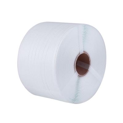 Sangles de polypropylène PP Couleur Blanc mm. 9x0,6 mt. 4000
