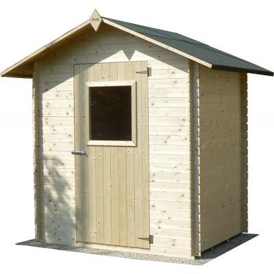 Maison en bois cm. 180x130 verrouillage Besagno