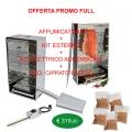 Fumeur Offre kit complet externe, kits de démarrage et 6 Kg.Cippato