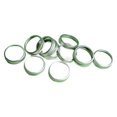 12 anneaux d'emballage pour des bocaux en verre vide