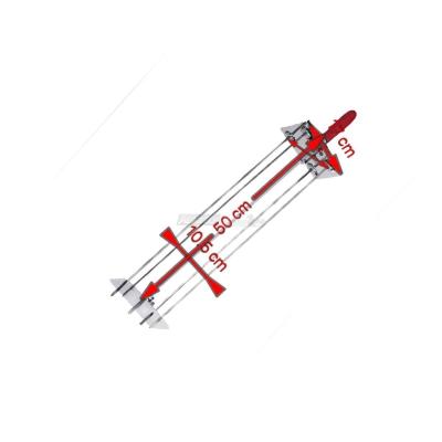 Sunburst Rotisserie satellite 4 Lance de 50 cm. 0545 + Auction